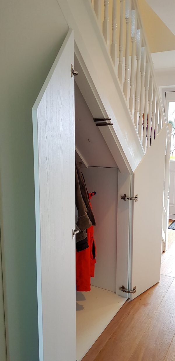 Storage for awkward spaces