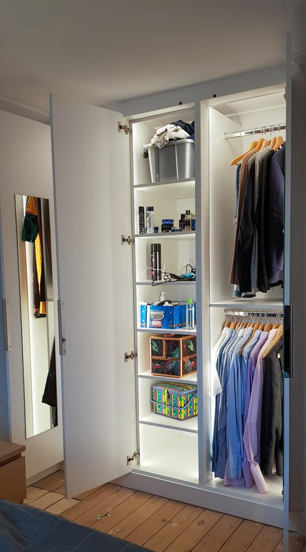 FSWC Fitted Wardrobe with Lighting
